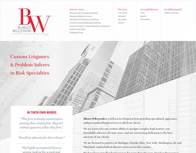 Branding & Website for Law Firm