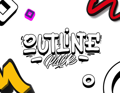 Outline Brushes Procreate Pack By: Snooze One