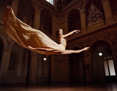 Anna Romanova a special ballet photoshoot