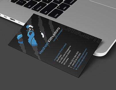 2020 Business Card Design