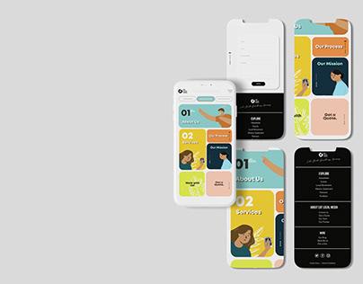 Advance Illustration - App Design