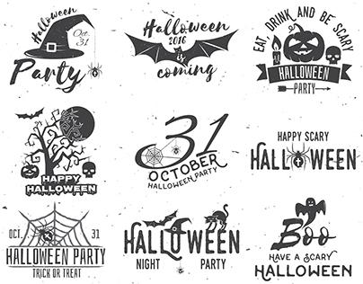 Halloween Vintage Design