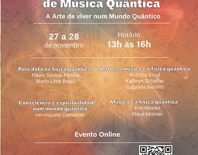 Cartaz Seminário de Música Quântica