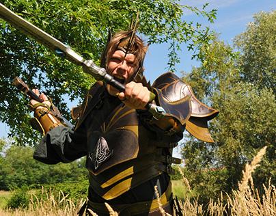 GALDOR: leather costume for LARP