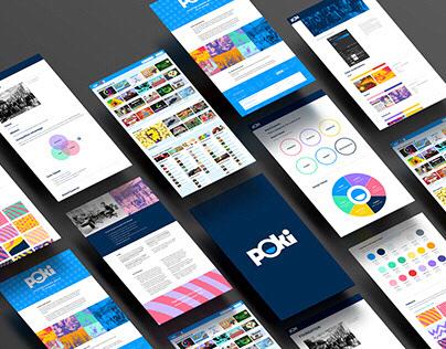 Poki, online gaming platform | brand strategy, identity