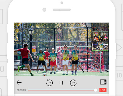 Kiswe Mobile Video Streaming iPhone / iPad App