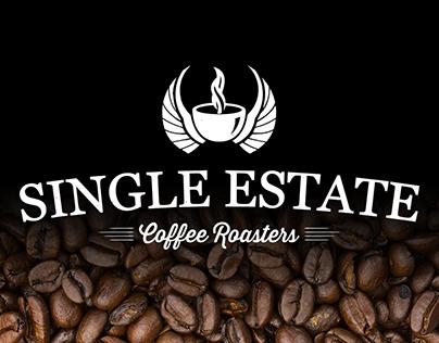 3D ident: Single Estate Coffee