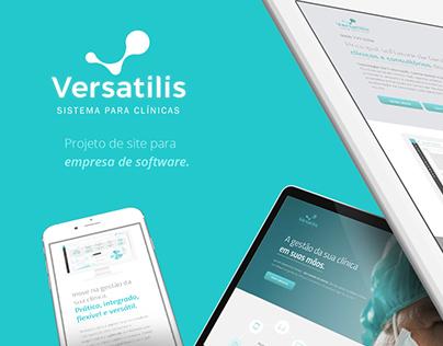 Site + Landing Page: Versatilis