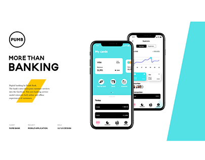 PUMB - Mobile banking(study case)