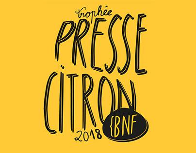 Trophée Presse Citron 2018