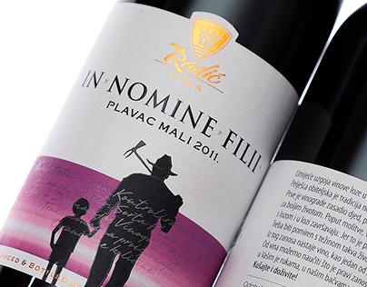 Radic Wine Label by the Labelmaker