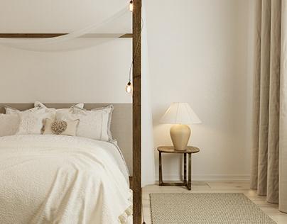 Проект спальни в современном стиле