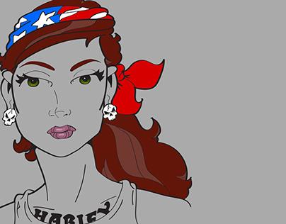 Girls of Summer No.5 - Harley