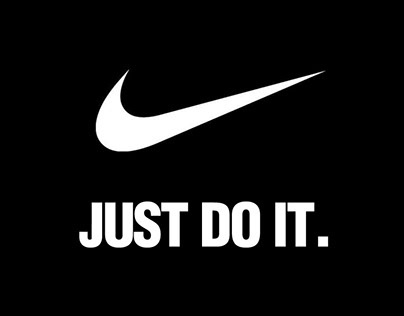 NIKE Stomp Typography Ads (college project)