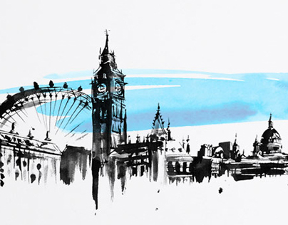 Architecture and Cityscape Illustrations
