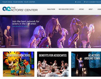 The Actors' Center Website Design