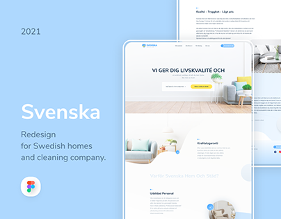 Svenska - Swedish cleaning company