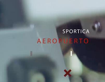 Video promo Sportica Aeropuerto