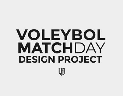 2019-2020 Voleybol MatchDay Design Project
