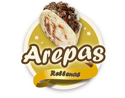 Logotipo arepas
