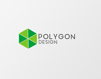 Logotipo Polygonal Design