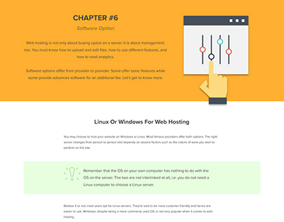 Web Hosting 101 Infographic - Chapter 6 (Software)