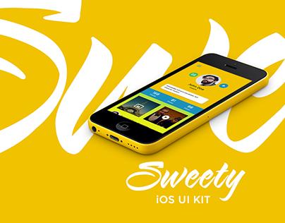 Sweety iOS UI Kit - Free Download