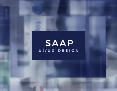 SAAP - UI/UX Design.