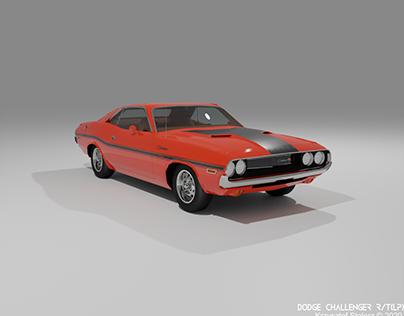 Dodge Challenger (1970)(LP, free sketchfab download)
