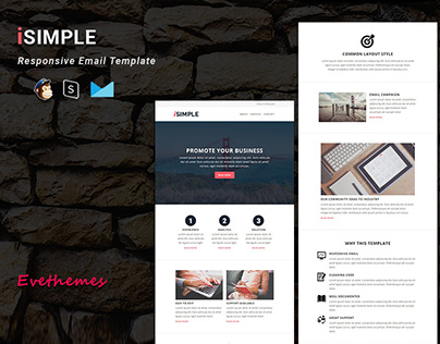 iSimple - Responsive Email Template