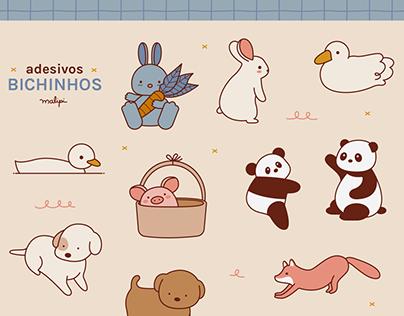 Cute Animals Stickers