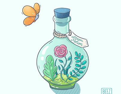 Green potion