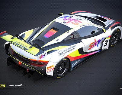 2020 Jenson Button // British GT