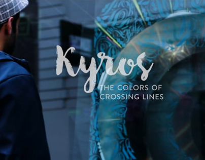 KYROS – the colors of crossing lines