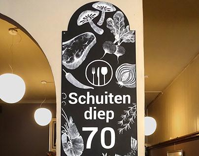 Mural Schuitendiep 17