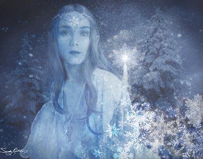 The Magical Ice Elf Fantasy Art