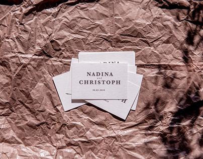 WEDDING - Nadina and Chris