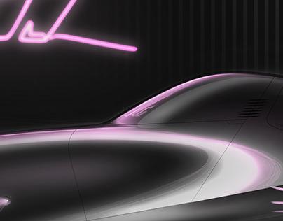 Miura Sorbole SV Concept Automotive design sketch