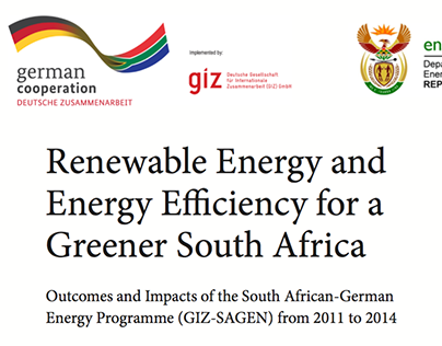 Renewable Energy and EE in South Africa, 2014 brochure