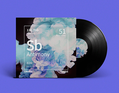Antimony Cover Album ArtWork