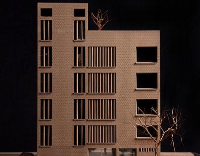 Brick Veil House Model - Studio Lotus