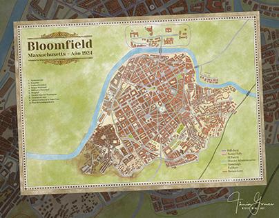 La Sombra de Saros RPG - Bloomfield Map