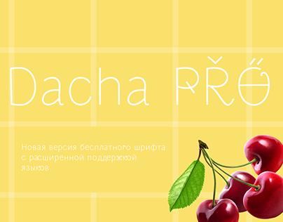 Free font DachaPro