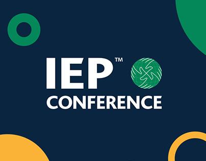 IEP Conference web design