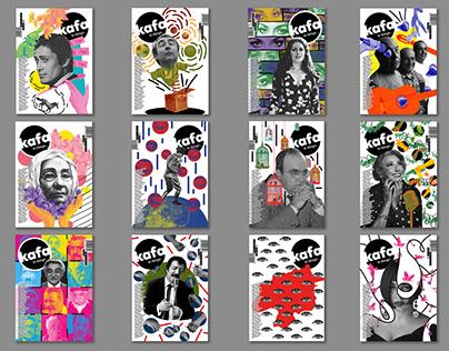 """""""KAFA"""" Dergi Tasarımı / Editorial Design"""