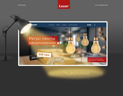 Lezar - Web design