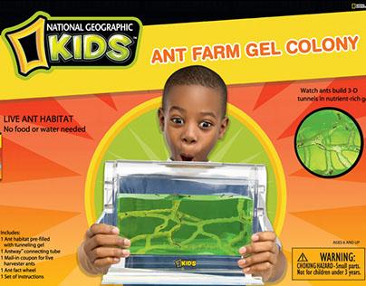 NatGEo Kids - Toy Packaging