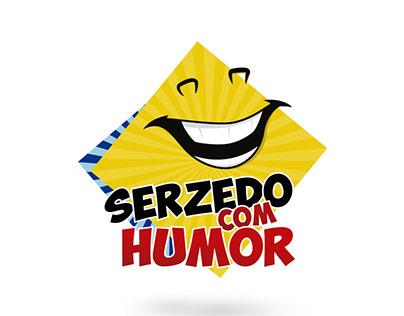 Logo - Serzedo com Humor