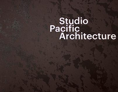 Editorial design for Studio Pacific Architecture