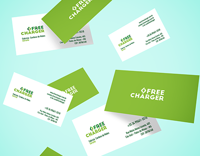Identidade Visual para Free Charger Carregadores